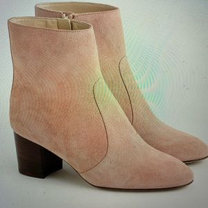 J.Crew Ankle Boots in Suede